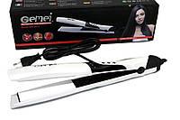 Качественный выпрямитель для волос с керамическим покрытием (Gemei Gm-2917)