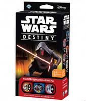 Звёздные Войны Судьба: Стартовый набор Кайло Рен (Star Wars Destiny Kylo Ren Starter Set) настольная игра