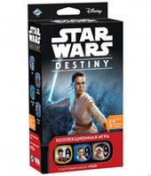 Звёздные Войны Судьба: Стартовый набор Рэй (Star Wars Destiny Rey Starter Set ) настольная игра