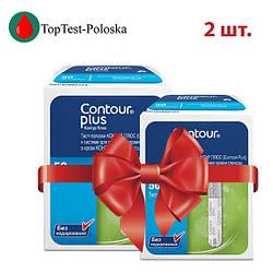 Тест-полоски Контур Плюс  50 шт.  2 упаковки