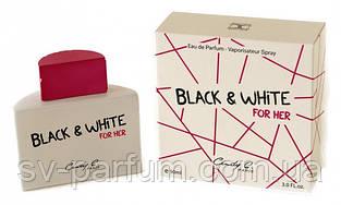 Парфюмированная вода женская Black & White 90ml