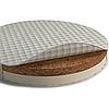 Матрац на люльку SMARTBED OVAL (розмір 60х71) наповнювач кокос+латекс