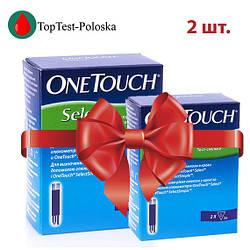 Тест полоски One Touch Select  №50 2 упаковки