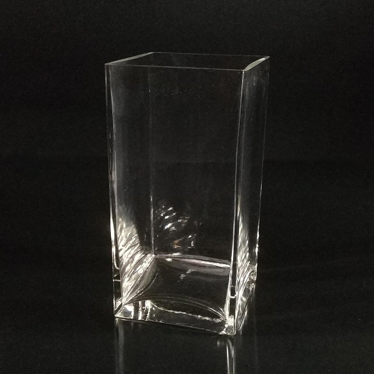 Квадратная ваза 20 х 10 х 10 см