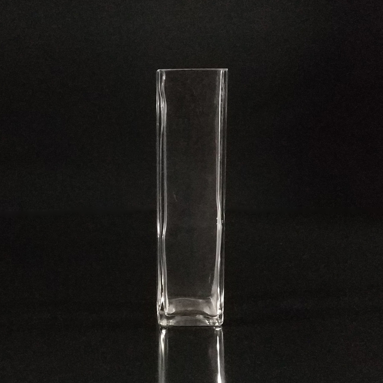 Квадратная ваза h 21 см, 5 х 5 см