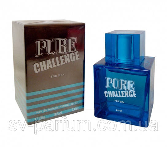 Туалетная вода мужская Pure Challenge  100ml