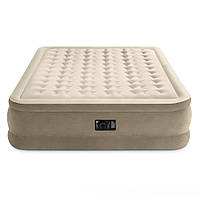 Надувная двухспальная кровать со встроенным электронасосом INTEX 64458 (152х203х46 см)