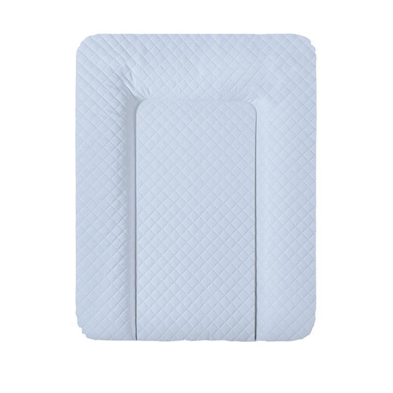Пеленальный матрас Ceba Baby Caro mat голубой  50см x70см (повивальний матрац)