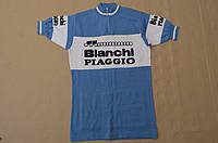 Вінтажна велофутболка Bianchi Piaggio з Німеччини