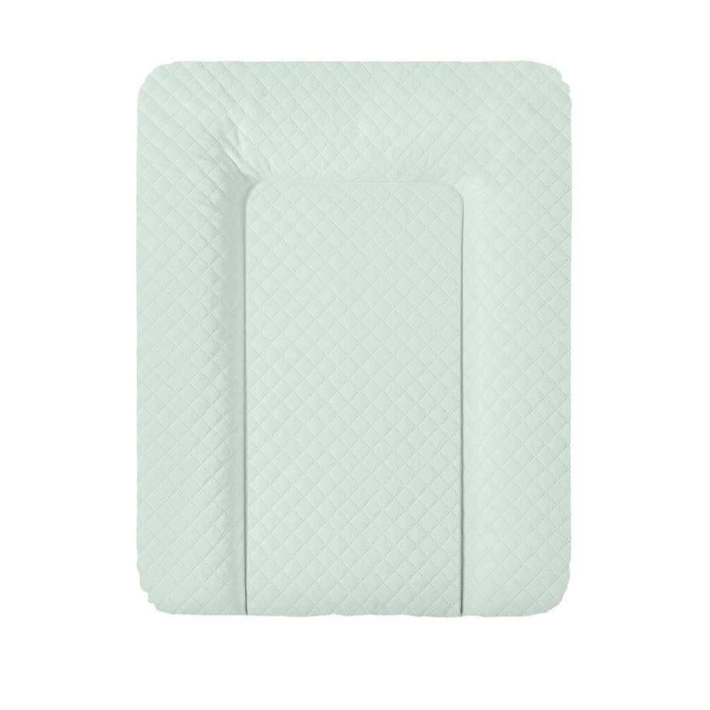 Пеленальный матрас Ceba Baby Caro mat мятный  50см x70см (повивальний матрац)