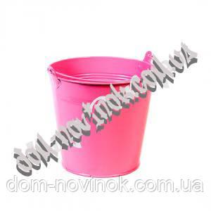Ведро большое розовое