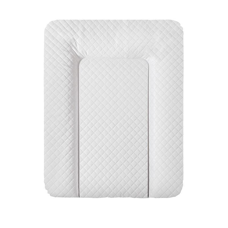 Пеленальный матрас Ceba Baby Caro mat белый  50см x70см (повивальний матрац)