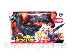 Музыкальная игрушка Динозавр ходит,свет Китай 818A