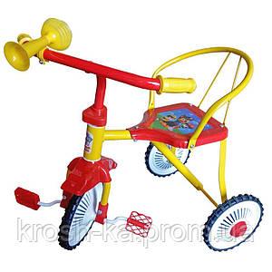 Велосипед 3-х колёсный Гвоздик Китай неоновый TR235