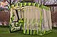 Гойдалка садова Соляріс Преміум (розкладна), фото 5