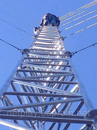 Мачта алюминиевая M440FL высота 36 метров, фото 2