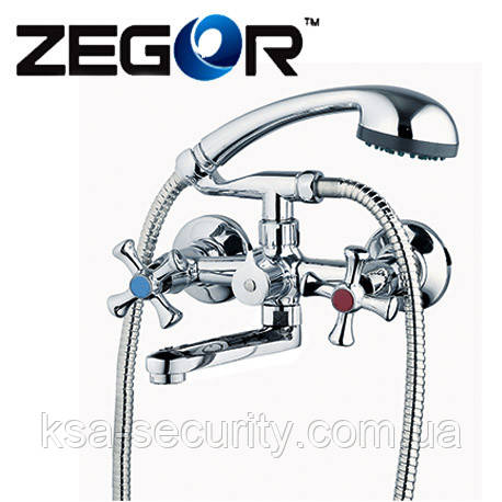 Смеситель для ванны ZEGOR DST3-A827 (Зегор)