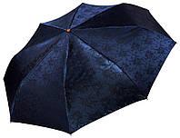 Женский зонт Три Слона Синий жаккард ( полный автомат ) арт. L3812-2