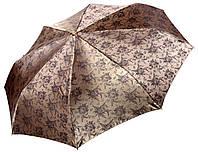 Жіночий парасольку Три Слона Золотистий жаккард ( повний автомат ) арт. L3812-4