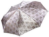 Жіночий парасольку Три Слона Сріблястий жаккард ( повний автомат ) арт. L3812-5