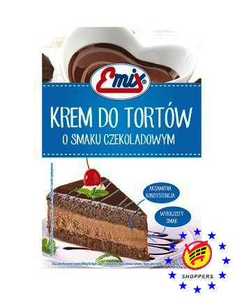 Emix Krem Czekoladowy – крем для тортов шоколадный, 100 г