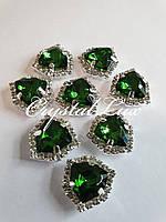 Triangle 16*16mm Emerald в цапах