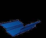 Конек Термастил - Планка конька полукруглая 0.45 мм глянец Китай , фото 7