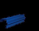 Конек Термастил - Планка конька полукруглая 0.45 мм глянец Китай , фото 8