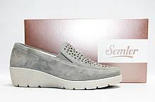 Женские туфли Semler оригинал Германия натуральная замша 42
