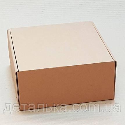 Самосборные картонные коробки 210*210*100 мм., фото 2
