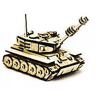 Деревяна іграшка Пазл 3D Танк М-60