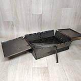 Мангал 3 мм раскладной с столиком на 7 шампуров, фото 8
