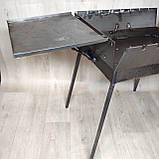 Мангал 3 мм раскладной с столиком на 7 шампуров, фото 5