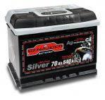 АКБ SZNAJDER Silver 6СТ- 70Aз 540A R