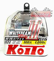 Автолампы Koito WhiteBeam III / 4000K/ H11 / 2шт.