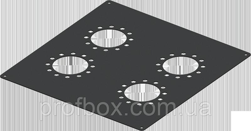 Змінна верхня панель до моноблоку MB-TP4 (Ш200 Г200) чорна, RAL9005 (Black textured)