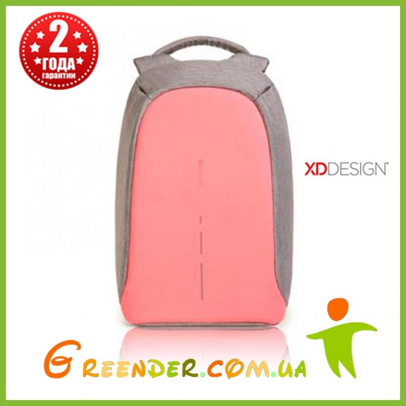 Рюкзаки антивор XD Design Bobby Compact, розовый