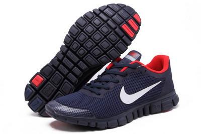 f0c1b776 Кроссовки мужские Nike free run 3.0 сине-красные - SHOES-INTIME в Харькове