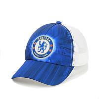 """Бейсболка """"Chelsea"""" з білою сіткою"""