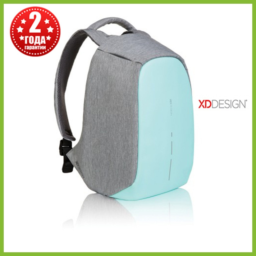Мужской рюкзак антивор XD Design Bobby Compact, бирюзовый
