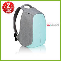 Мужской рюкзак антивор XD Design Bobby Compact, бирюзовый, фото 1