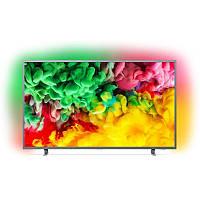 Телевизор Philips 50PUS6703 4K, HDR Plus, SAPHI Smart TV, AMBILIGHT 3  60 Hz, Wi-Fi, DVB-C, DVB-S, D