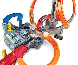 Хот Вилс Штормовое вращение Головокружительные виражи Шторм Hot Wheels Spin Storm CDL45, фото 2