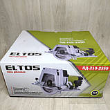 Пила дисковая Eltos ПД-210-2350 переворотная, фото 10