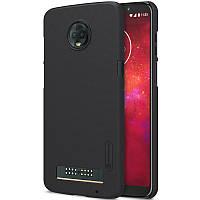 Чехол Nillkin Matte для Motorola Moto Z3 / Moto Z3 Play (Черный)
