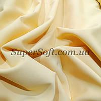 Ткань креп костюмка Барби желтая
