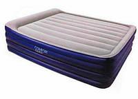 Надувная кровать со встроенным насосом Bestway 67528, 203х152х56 см очень удобный