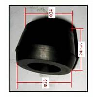 Втулка задней поперечной тяги правая SsangYong 4563105000, фото 1