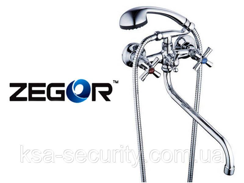Смеситель для ванны ZEGOR DFR7-A722 (Зегор)