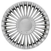 Колпаки на колеса R13 серебро, Jestic Admiral (98836) - комплект (4 шт.)
